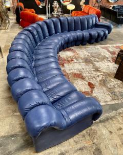 de Sede De Sede 600 non stop blue 22 element sofa 1970s - 1151724