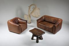 de Sede De Sede DS 47 Brown Leather Sofa 1970s - 1248880