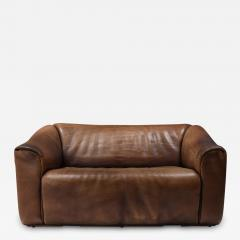 de Sede De Sede DS 47 Brown Leather Sofa 1970s - 1250865
