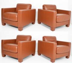 de Sede De Sede Leather Lounge Chairs - 1239949