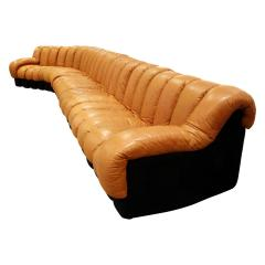 de Sede Iconic De Sede Non Stop Sofa in Leather 1970s - 665303