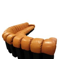 de Sede Iconic De Sede Non Stop Sofa in Leather 1970s - 665304