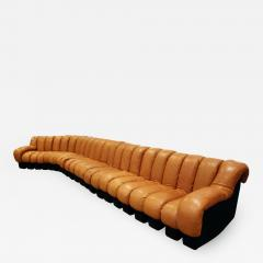 de Sede Iconic De Sede Non Stop Sofa in Leather 1970s - 670133