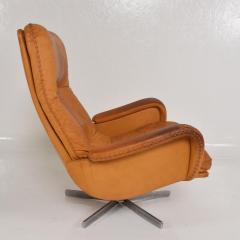 de Sede Midcentury Set of Two De Sede S 231 James Bond Swivel Arm Lounge Chairs 1960s - 1177592