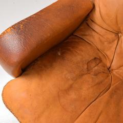 de Sede Midcentury Set of Two De Sede S 231 James Bond Swivel Arm Lounge Chairs 1960s - 1177594