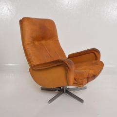 de Sede Midcentury Set of Two De Sede S 231 James Bond Swivel Arm Lounge Chairs 1960s - 1177595
