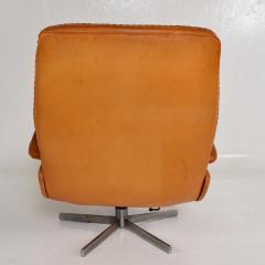 de Sede Midcentury Set of Two De Sede S 231 James Bond Swivel Arm Lounge Chairs 1960s - 1177597