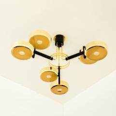 form A Eclissi Ceiling Light Carved Glass Version - 1270120