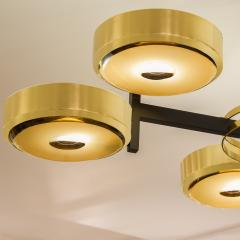 form A Eclissi Ceiling Light Carved Glass Version - 1270122