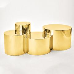 form A Geometria Cerchi 4 Coffee Table Brass Version - 1225075