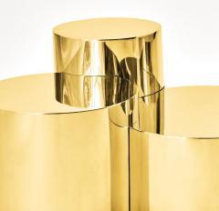 form A Geometria Cerchi 4 Coffee Table Brass Version - 1225081
