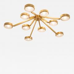 form A Oculus Articulating Ceiling Light Murano Glass Version - 1235325
