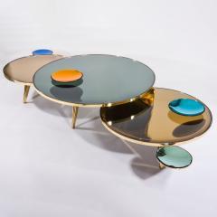 form A Riflesso Coffee Tables Set of Three - 1258213