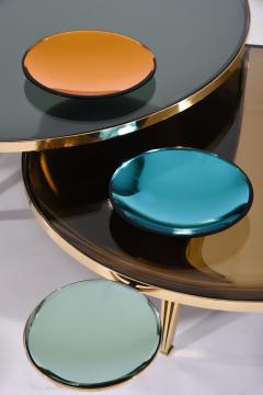 form A Riflesso Coffee Tables Set of Three - 1258214