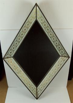 glomis French Art Deco Diamond Form Mirror - 649593