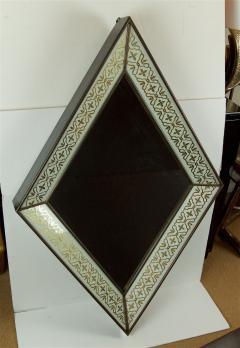 glomis French Art Deco Diamond Form Mirror - 649594