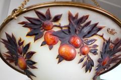 mile Gall L 02 Rare Art Nouveau Chandelier by Gall  - 259839