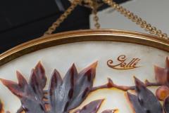 mile Gall L 02 Rare Art Nouveau Chandelier by Gall  - 259840
