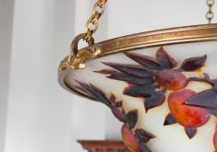 mile Gall L 02 Rare Art Nouveau Chandelier by Gall  - 259841