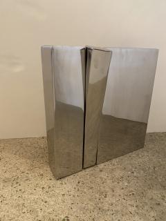 mile Gilioli French Modern Polished Steel Sculpture Emile Gilioli - 1881923