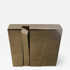 mile Gilioli French Modern Polished Steel Sculpture Emile Gilioli - 1933009