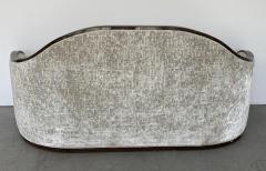 mile Jacques Ruhlmann 1940s French Macassar Sofa Style of Ruhlmann - 1951594