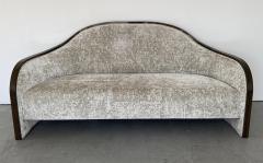 mile Jacques Ruhlmann 1940s French Macassar Sofa Style of Ruhlmann - 1951597