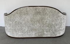 mile Jacques Ruhlmann 1940s French Macassar Sofa Style of Ruhlmann - 1951598