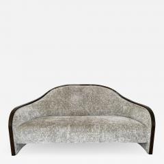 mile Jacques Ruhlmann 1940s French Macassar Sofa Style of Ruhlmann - 1953244