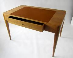 mile Jacques Ruhlmann A French Modern Oak and Leather Desk Emile Jacques Ruhlmann - 1173355
