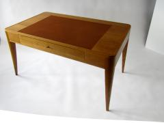 mile Jacques Ruhlmann A French Modern Oak and Leather Desk Emile Jacques Ruhlmann - 1173366