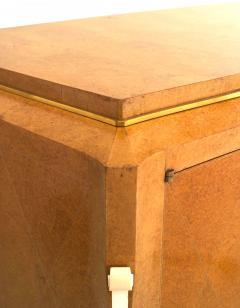 mile Jacques Ruhlmann Emile Jacques Ruhlmann French Art Deco Burled Amboyna Commode - 1611980