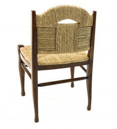 mile Jacques Ruhlmann J E Ruhlmann Rare Set of Four Chairs Model Rendez vous des p cheurs de truite  - 1536054