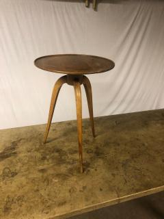 mile Jacques Ruhlmann J R Ruhlmann attributed tripod coffee table - 1258009