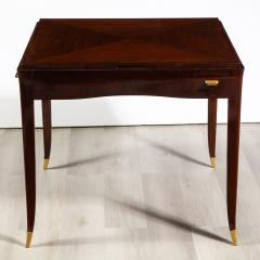 mile Jacques Ruhlmann Rare Rosewood Game Table by mile Jacques Ruhlmann - 1550823