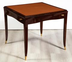 mile Jacques Ruhlmann Rare Rosewood Game Table by mile Jacques Ruhlmann - 1550824