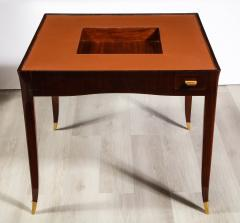 mile Jacques Ruhlmann Rare Rosewood Game Table by mile Jacques Ruhlmann - 1550825