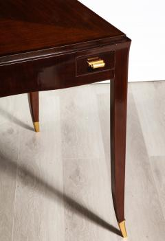 mile Jacques Ruhlmann Rare Rosewood Game Table by mile Jacques Ruhlmann - 1550826
