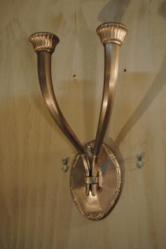mile Jacques Ruhlmann Ruhlmann Antelope Wall Lamps - 1066610