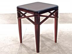 mile Jacques Ruhlmann Ruhlmann Small Side Table in Macassar Ebony - 295726