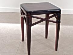 mile Jacques Ruhlmann Ruhlmann Small Side Table in Macassar Ebony - 295727