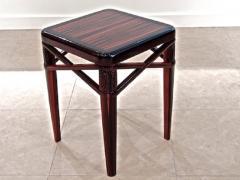 mile Jacques Ruhlmann Ruhlmann Small Side Table in Macassar Ebony - 1600548