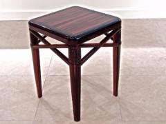 mile Jacques Ruhlmann Ruhlmann Small Side Table in Macassar Ebony - 1600573