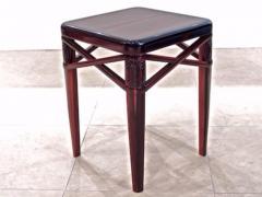 mile Jacques Ruhlmann Ruhlmann Small Side Table in Macassar Ebony - 1600574