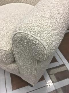 mile Jacques Ruhlmann Ruhlmann Style 1930s Extreme Comfort Pair of Club Chair Covered in Boucle Cloth - 609406