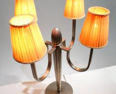 mile Jacques Ruhlmann Stunning Pair of Art Deco Table Lamp in the Style of J E Ruhlmann - 1874131