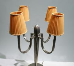 mile Jacques Ruhlmann Stunning Pair of Art Deco Table Lamp in the Style of J E Ruhlmann - 1874170