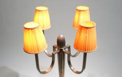 mile Jacques Ruhlmann Stunning Pair of Art Deco Table Lamp in the Style of J E Ruhlmann - 1874176