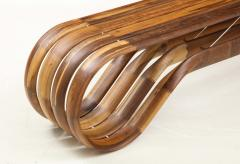 ndio da Costa Contemporary Infinito Wood Bench by Guto ndio da Costa Brazil 2019 - 2044682
