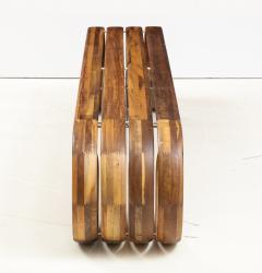ndio da Costa Contemporary Infinito Wood Bench by Guto ndio da Costa Brazil 2019 - 2044683